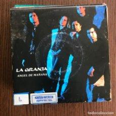 Discos de vinilo: LA GRANJA - ÁNGEL DE MAÑANA - SINGLE TRES CIPRESES 1991 . Lote 149871384