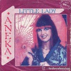 Discos de vinilo: == SB273 - SINGLE - ANEKA - LITTLE LADY / CHASING DREAMS. Lote 136707002