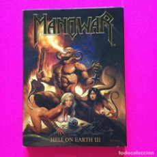 Discos de vinilo: MANOWAR. DVD HELL ON EARTH III. Lote 136707930