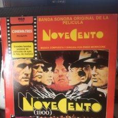 Discos de vinilo: ENNIO MORRICONE-NOVECENTO-VINILO NUEVO. Lote 136709128