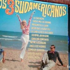 Discos de vinilo: LP ( VINILO) DE LOS 3 SUDAMERICANOS AÑOS 60. Lote 136712146