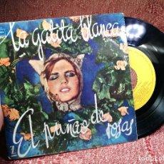 Discos de vinilo: LA GATITA BLANCA - EL PUÑAO DE ROSAS / ORQUESTA DE CAMARA DE MADRID / EP ZAFIRO DE 1963. Lote 136714902
