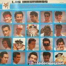 Discos de vinilo: LOS INHUMANOS - EL MAGICO PODER CURATIVO DE LOS INHUMANOS - LP ZAFIRO 1991 SPAIN. Lote 136715414