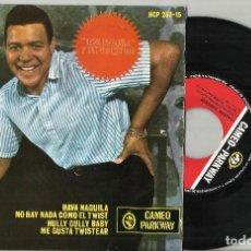Discos de vinilo: CHUBBY CHECKER EP HAVA NAGUILA + 3 ESPAÑA 1963. Lote 136715458