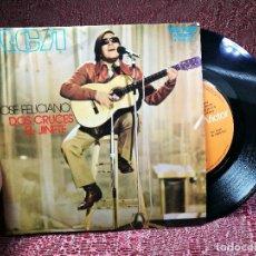 Discos de vinilo: JOSE FELICIANO- DOS CRUCES- EL JINETE- RCA VICTOR 1971. Lote 136717946
