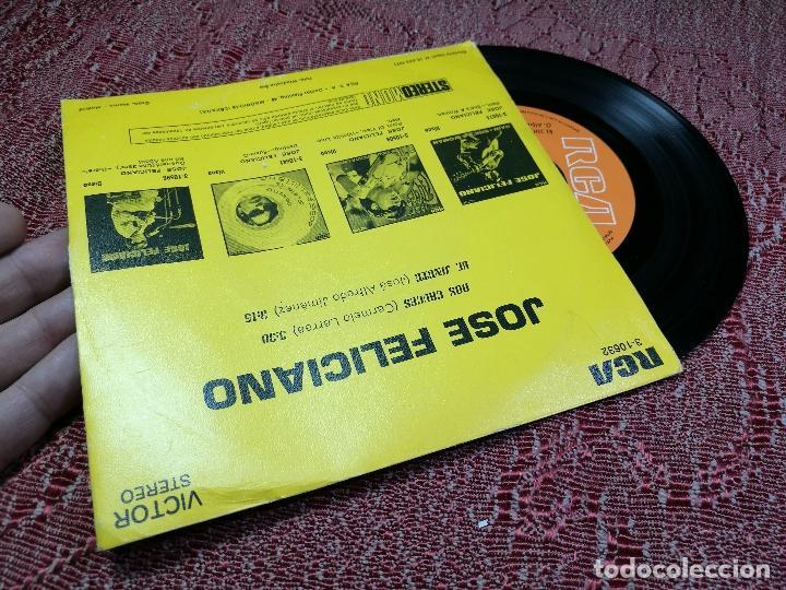 Discos de vinilo: JOSE FELICIANO- DOS CRUCES- EL JINETE- RCA VICTOR 1971 - Foto 2 - 136717946