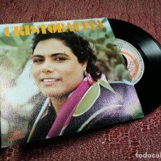 Discos de vinilo: SG CRISTOBALINA : BALCON DE FLORES + NANA GITANA ( PRODUCCION GONZALO GARCIAPELAYO ) . Lote 136718546