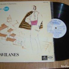 Discos de vinilo: LP VINILO LOS GAVILANES. ZARZUELA EN TRES ACTOS. 1967. Lote 136719306