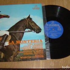 Discos de vinilo: LP VINILO LA MONTERIA. 1962. Lote 136721590