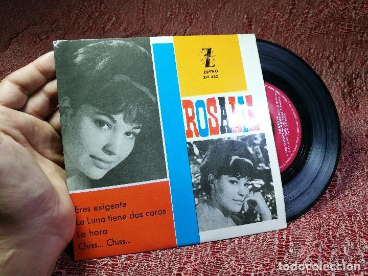 Discos de vinilo: ROSALIA EP SPAIN 1963 Eres exigente - ZAFIRO Z-E-432 - Chica ye-ye española - AUGUSTO ALGUERO - Foto 2 - 136725402