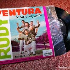 Discos de vinilo: RUDY VENTURA Y SU CONJUNTO - RECORDANT LA MOÑOS +3 - COLUMBIA 1960. Lote 136726142