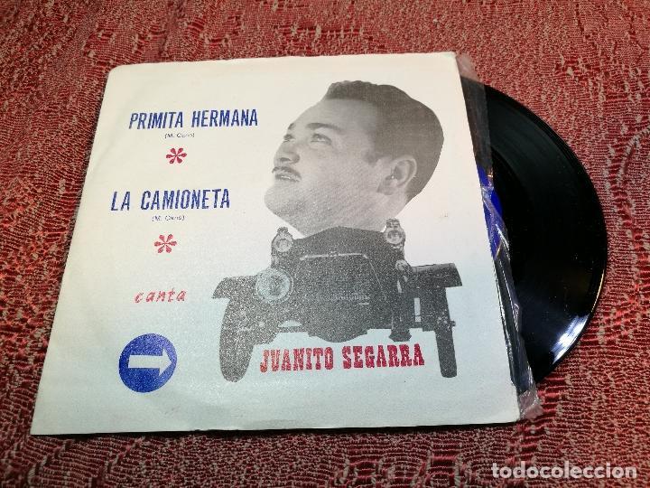 JUANITO SEGARRA (SN) PRIMITA HERMANA / LA CAMIONETA AÑO 1971 (Música - Discos de Vinilo - EPs - Grupos Españoles 50 y 60)