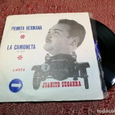 Discos de vinilo: JUANITO SEGARRA (SN) PRIMITA HERMANA / LA CAMIONETA AÑO 1971. Lote 136726366