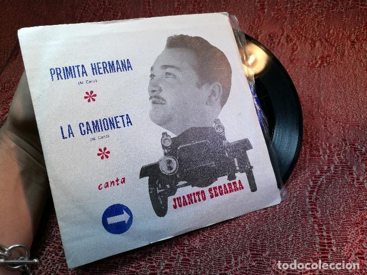 Discos de vinilo: JUANITO SEGARRA (SN) PRIMITA HERMANA / LA CAMIONETA AÑO 1971 - Foto 2 - 136726366