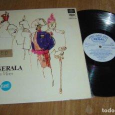 Discos de vinilo: LP VINILO LA GENERALA. ZARZUELA EN DOS ACTOS. 1967. Lote 136731258