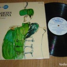 Discos de vinilo: LP VINILO LOS CADETES DE LA REINA. OPERETA EN UN ACTO. 1967. Lote 136731634