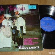 Discos de vinilo: LP VINILO LUISA FERNANDA. ZARZUELA EN TRES ACTOS. 1962. Lote 136732070