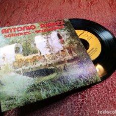 Discos de vinilo: ANTONIO SUAREZ / SOLEARES / SEGUIDILLAS (SINGLE 74). Lote 136736470