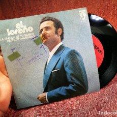 Discos de vinilo: EL LOREÑO - LA FAROLA DE TU BARRIO / HECHIZO MARINERO - SINGLE - DISCOPHON 1974 SPAIN. Lote 136736978