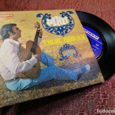 Discos de vinilo: PERET / EL MIG AMIC / PENSANT EN TU (SINGLE 1968). Lote 136737130