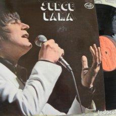 Discos de vinilo: SERGE LAMA -LES BALLONS ROUGES -LP 1975. Lote 136741470