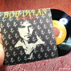Discos de vinilo: BOB DYLAN (MAN GAVE NAMES TO ALL THE ANIMALS) SINGLE ESPAÑA 1979 PROMO . Lote 136745822