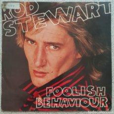 Discos de vinilo: LP RPD STEWART FOOLOSH BEHAVIOUR. Lote 136749162