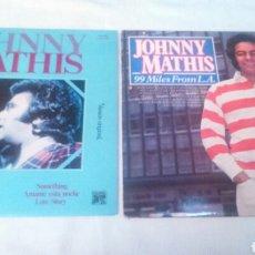 Discos de vinilo: JOHNNY MATHIS. 2 LPS. Lote 136754246