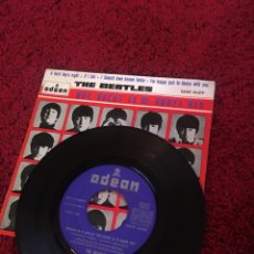 Discos de vinilo: VINILO THE BEATLES QUE NOCHE LA DE AQUEL DÍA IF I FELL. Lote 136756229