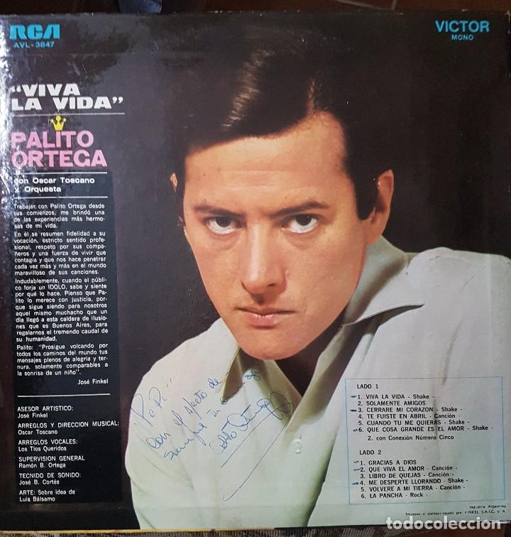 Discos de vinilo: PALITO ORTEGA LP SELLO RCA VICTOR EDITADO EN ARGENTINA - Foto 2 - 136756562