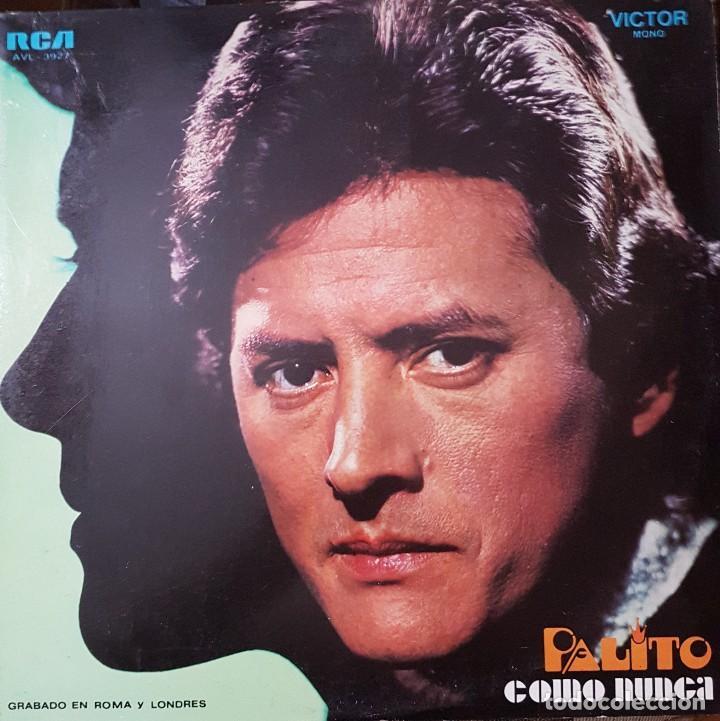 PALITO ORTEGA LP SELLO RCA VICTOR EDITADO EN ARGENTINA (Música - Discos de Vinilo - Maxi Singles - Solistas Españoles de los 70 a la actualidad)