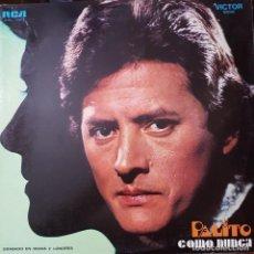 Discos de vinilo: PALITO ORTEGA LP SELLO RCA VICTOR EDITADO EN ARGENTINA. Lote 136756946