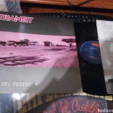 Disques de vinyle: TRANSIT LP EL BLUES DEL DESERTOR 1990. Lote 136759190