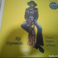 Discos de vinilo: EJI OYEWOLE - CHARITY BEGINS AT HOME. Lote 136759982