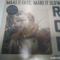 Discos de vinilo: ROB - MAKE IT FAST MAKE IT SLOW. Lote 136760058
