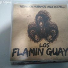 Discos de vinilo: LOS FLAMING GUAYS - ATENCION HUMANOS AQUI ESTAN.... Lote 136761654