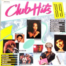 Discos de vinilo: CLUB HITS 89 / DOBLE LP / DANCE MUSIC / 1989 / BUEN ESTADO. Lote 136763424