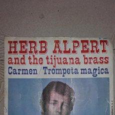 Discos de vinilo: HERB ALPERT AND THE TIJUANA BRASS - CARMEN TROMPETA MAGICA. Lote 136764198