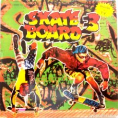 Discos de vinilo: SKATE BOARD 3 / DOBLE LP / RECOPILACIÓN DANCE / AÑOS 90 / BUEN ESTADO. Lote 136764854