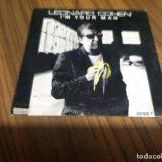 Discos de vinilo: LEONARD COHEN. I´M YOUR MAN. VINILO EN BUEN ESTADO. . Lote 136774910