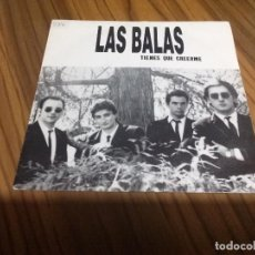 Discos de vinilo: LAS BALAS. TIENES QUE CREERME. VINILO EN BUEN ESTADO. CON PEGATINA EN PORTADA. Lote 136774990