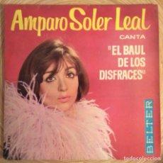Discos de vinilo: AMPARO SOLER LEAL EP BELTER EL BAUL DE LOS DISFRACES AÑO 1964. Lote 136776882