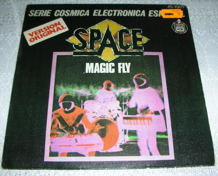 SPACE – MAGIC FLY / BALLAD FOR SPACE LOVERS - SINGLE (Música - Discos - Singles Vinilo - Electrónica, Avantgarde y Experimental)