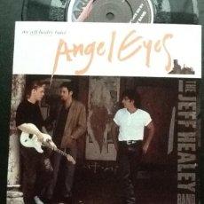 Discos de vinilo: JEFF HEALEY BAND: ÁNGEL EYES + DON'T LET YOUR CHANCE GO. Lote 136779526