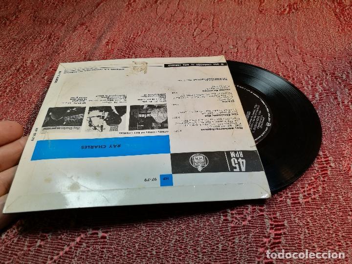 Discos de vinilo: RAY CHARLES -NO EMBORRACHAMOS -Y 3 MAS - Foto 2 - 136804294