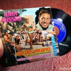 Discos de vinilo: ANDY RUSSELL - DEL FILM SOL DE VERANO, EP, SOL DE VERARYAN PARIS. - DOLCE VITA. MAXI-SINGLE. TDKDA46. Lote 136806382