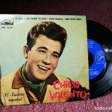 Discos de vinilo: CHICO VALENTO – EL TWIST (H. BALLARD) – EP ORIGINAL SPAIN 1962 – 7EPL 13737. Lote 136810766