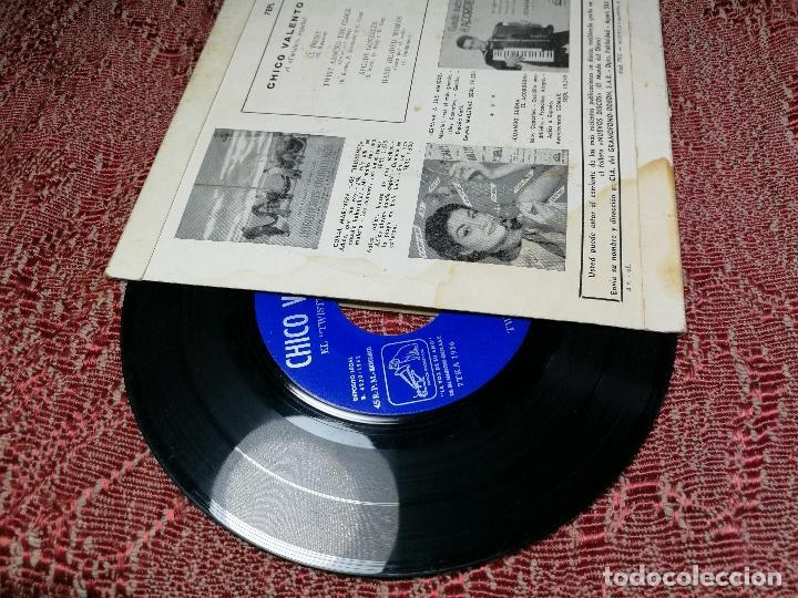 Discos de vinilo: CHICO VALENTO – EL TWIST (H. BALLARD) – EP ORIGINAL SPAIN 1962 – 7EPL 13737 - Foto 4 - 136810766