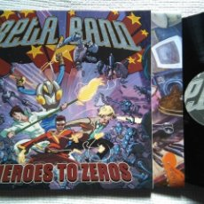 Discos de vinilo: THE BETA BAND - '' HEROES TO ZEROS '' LP + INNER GATEFOLD UK 2004. Lote 136812806
