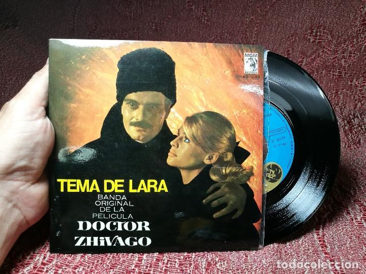 MAURICE JARRE - BANDA ORIGINAL DE LA PELICULA DOCTOR ZHIVAGO - TEMA DE LARA MGM 1966 (Música - Discos - Singles Vinilo - Bandas Sonoras y Actores)